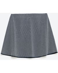 Zara   Flounce Skirt   Lyst