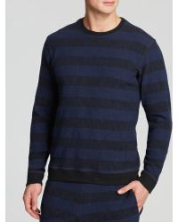 Lucio Castro - Striped Textured Sweater - Lyst
