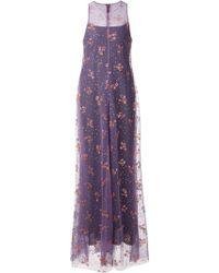 Mary Katrantzou Embellished Layered Gown - Lyst