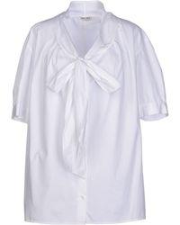 Miu Miu Shirt - Lyst