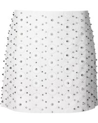 Viktor & Rolf Spiked Mini Skirt - Lyst