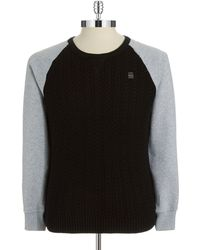 G-star Raw Mixed Knit Pullover - Lyst