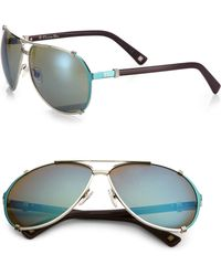 Dior Metal Aviator Sunglasses - Lyst