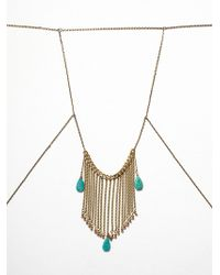 Free People Lorfeo Body Chain - Lyst
