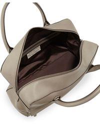 Brunello Cucinelli - Monilitrim Leather Zip Satchel Bag - Lyst