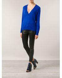 Proenza Schouler Vneck Sweater - Lyst