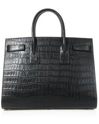 Saint Laurent Sac De Jour Large Leather Tote - Lyst