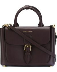 Burberry - 'saddle' Tote - Lyst