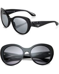 Prada Embellished Arm Sunglasses - Lyst