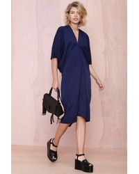 Nasty Gal Blue Metamorphose Dress  - Lyst