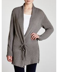 Sandwich - Loose Knitted Long Cardi - Lyst