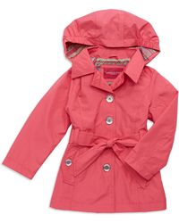 London Fog - Girls 2-6X Belted Trench Coat - Lyst