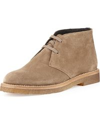 Vince Clay Suede Desert Boot - Lyst