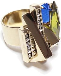Iosselliani | Deco Crystal Ring | Lyst