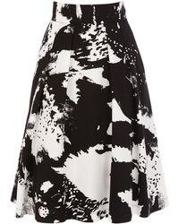 Coast Black Cannizaro Skirt - Lyst