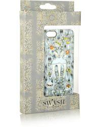 Swash London - Les Cheveux De Marie Lilas Printed Plastic Iphone 5 Case - Lyst
