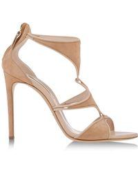 Casadei Sandals beige - Lyst
