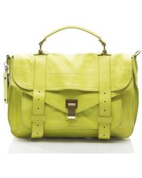 Proenza Schouler Preowned Citron Lux Medium Ps1 Bag - Lyst