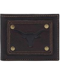 Jack Mason Brand - 'gridiron - Texas Longhorns' Slim Bifold Wallet - Lyst
