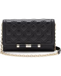 Diane von Furstenberg 440 Large Currency Quilted Leather Crossbody Bag - Lyst