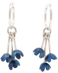 Sian Bostwick Jewellery Forgetmenot Charm Earrings - Lyst