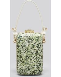 Tory Burch Clutch Queen Annes Lace Minaudiere - Lyst