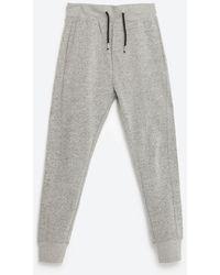 Zara | Red Label Trousers | Lyst