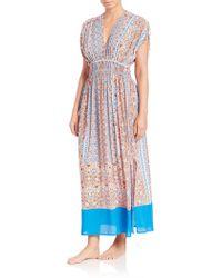 Shoshanna | Boho Draw-sleeve Maxi Dress | Lyst