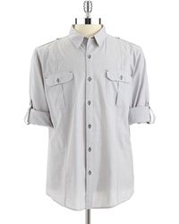 DKNY Button Down Shirt - Lyst