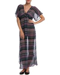 Josa Rustic Swim Cover Up - Lyst