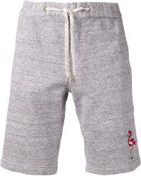 Marc Jacobs X Basel Cotton Shorts gray - Lyst