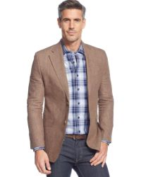 Lauren by Ralph Lauren  Glen Plaid Linen Sport Coat - Lyst