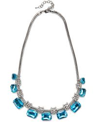 Jacques Vert   Rectangle Stone Necklace   Lyst