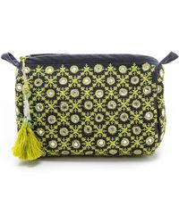 Star Mela Dali Embellished Purse Navy - Lyst
