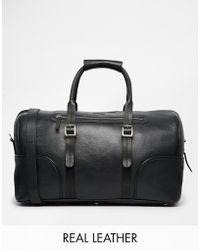 Barneys Originals - Barney's Leather Holdall - Lyst