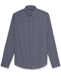 Theory Stephan Ff Shirt in Morro - Lyst