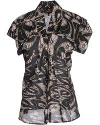 Vivienne Westwood Anglomania Shirt black - Lyst
