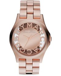 Marc By Marc Jacobs Rose Golden Mirror Watch - Lyst