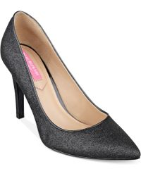 Isaac Mizrahi New York Lamist Evening Pumps - Lyst