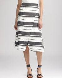 Whistles Skirt - Hayley Stripe Wrap - Lyst
