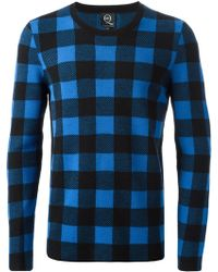 McQ by Alexander McQueen Checked Sweater - Lyst