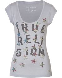 True Religion Cottonjersey Lettered Tshirt - Lyst