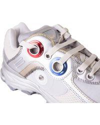 Raf Simons | Response Robot Silver Sneakers | Lyst