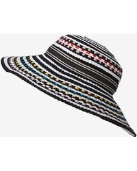 Missoni Mare Colored Dot Woven Wide Brim Hat - Lyst