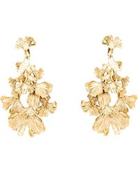 Aurelie Bidermann Tangerin Clip On Earrings - Lyst