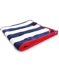 Hackett Navy Striped Bengale Beach Towel - Lyst