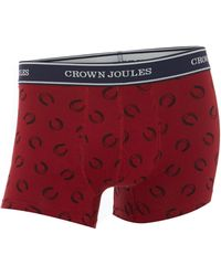 Joules Purple Lucky Pants - Lyst