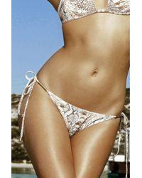 Melissa Odabash   Verona Over-the-shoulder Bikini   Lyst