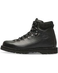 Diemme Black Leather Roccia Vet Boots black - Lyst