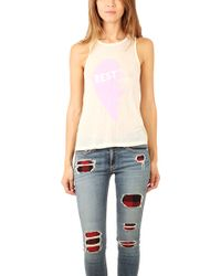 Wildfox Island Friendly Tank - Lyst